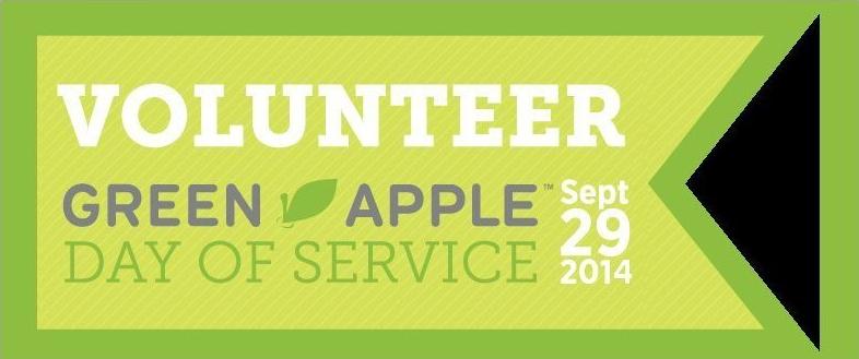 29 de septiembre - día del servicio voluntario green apple