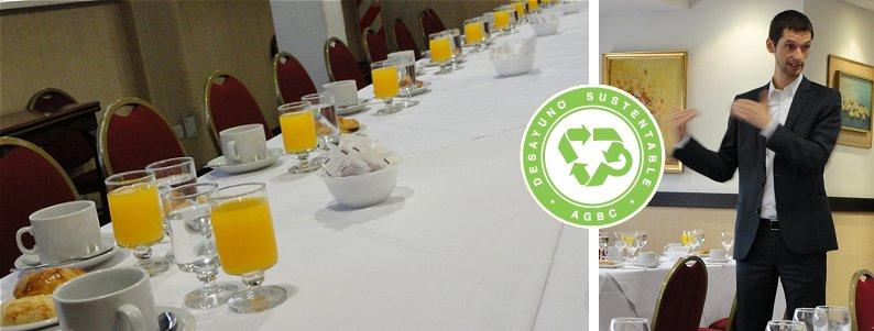 Desayunos Sustentables en Argentina Green Building Council - Diseño y Arquietctura Sustentable