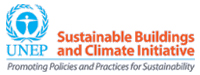 Logo UNEP-Sustainable Building and Climate Initiative