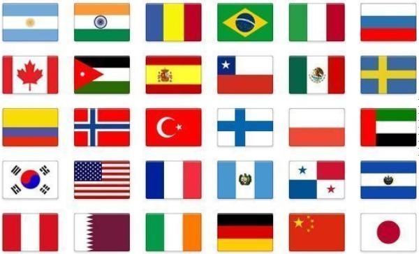 Países integrantes de la Mesa Redonda Internacional LEED